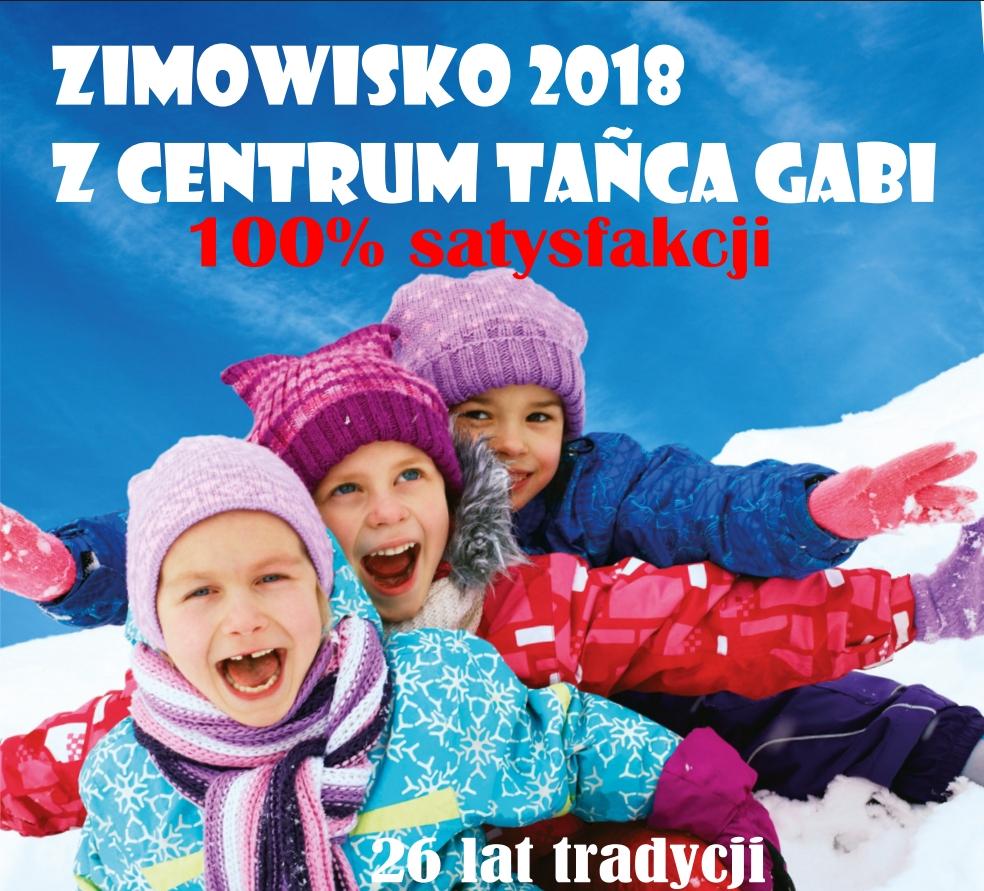 Zimowisko 2018 z Centrum Tańca GABI - ostatnie miejsca.